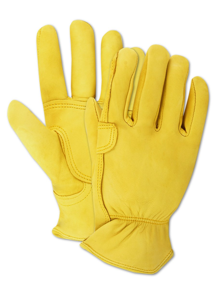 Medium Magid Glove and Safety TB559ETM Magid TB559ET-M Mens Pro Grade Collection Roper Goatskin Gloves