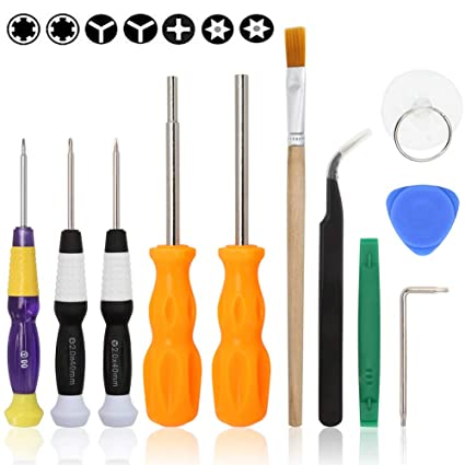 UPDATED Triwing Screwdriver Set, E Durable Professional GameBit Tool Kit  for Nintendo Game Cartridge - Nintendo Switch 3DS Wii WiiU NES SNES DS Lite