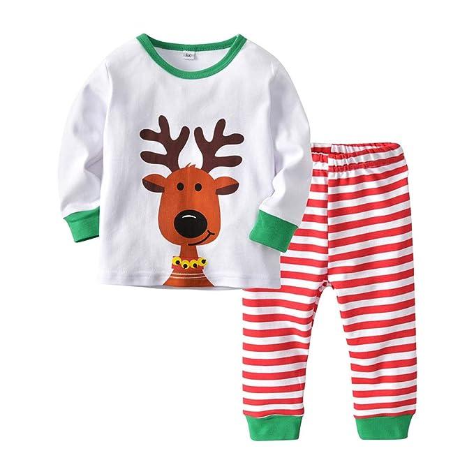 Deylaying Conjunto de Pijamas de Bebé para Dormir - Niños Pequeños ...