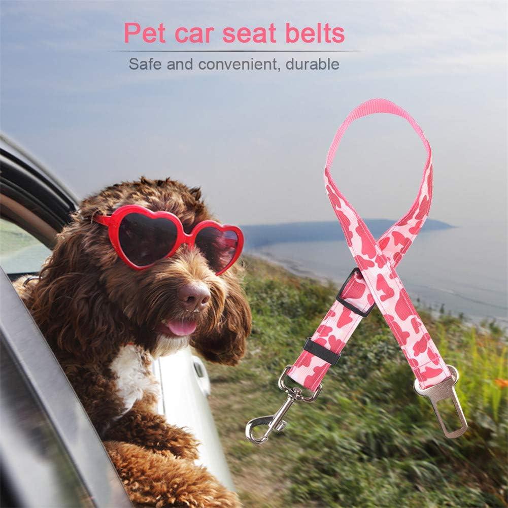 hongyupu Hundeanschnaller F/ürs Auto Hunde Anschnallgurt Auto Auto Reisezubeh/ör f/ür Hunde Hundesicherheitsgurte f/ür Autos Geschirr Hundegeschirr Blue