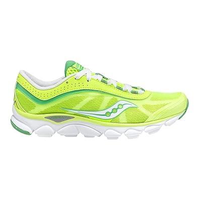 84a5c266f8219 Amazon.com | Saucony Women's Virrata Running Shoe, Citron/Green, 7 M ...