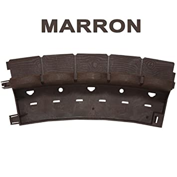 greenparck Bordure de jardin en résine composite MARRON: Amazon.fr ...