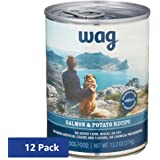 Wag Amazon Brand Wet Dog Food Pate Recipe 12.5/13.2 oz (Pack of 12)