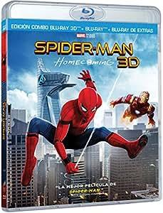 Spider-Man: Homecoming (BD 3D + BD + BD Extras) [Blu-ray]