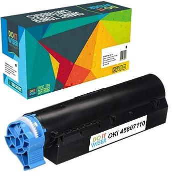Do it Wiser Cartucho de Tóner Compatible para Oki MB472 | B512 ...
