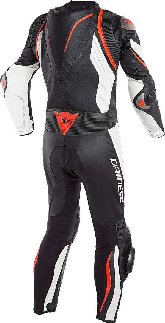 Dainese Racing Kyalami Perforada Einteiler Black/White/Fluo de Red ...