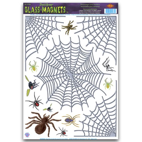 Spider Clings Party Accessory count