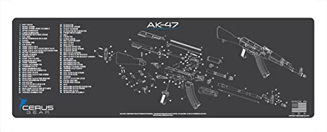 Amazon.com : Cerus Gear AK-47 Schematic Rifle Promat ... on