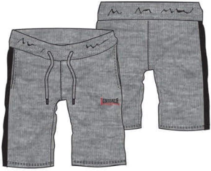Lonsdale - Pantalones cortos de deporte para hombre, 100% algodón ...