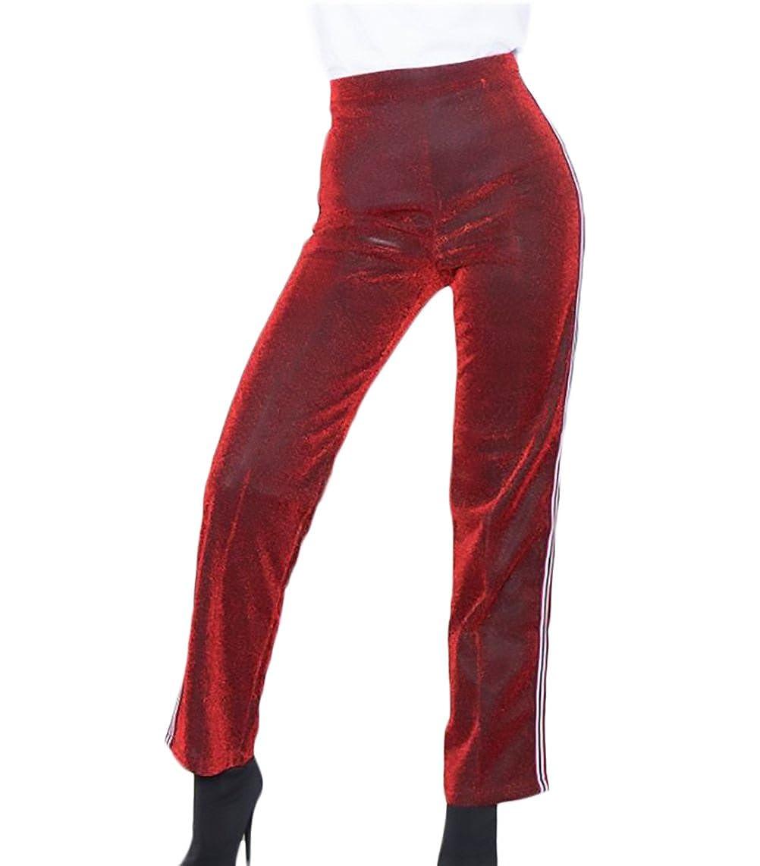 Pantalones Mujer Cintura Alta Anchos Palazzo Elegante Vintage ...