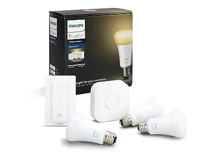Dot Light Lampen : Philips hue white ambiance e27 led lampe starter set drei lampen