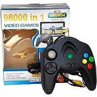 Radhe 98000-in-1 Video Game System (Black)