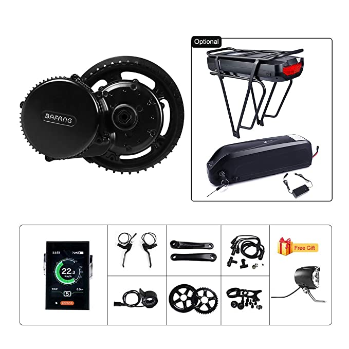 Best ebike Conversion Kit: BAFANG BBS02B 48V 750W Ebike Motor