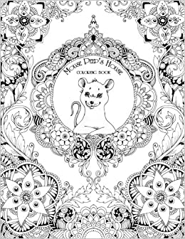Amazon.com: The House of Mouse Peep: Coloring book (9781534677388 ...
