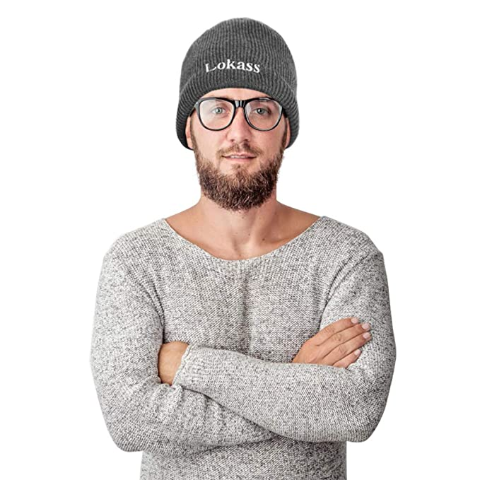 b5893566a80e3 Image Unavailable. Image not available for. Color  DTBG Beanie Winter Hat  Soft Thick Slouchy Knitted Hat Warm ...