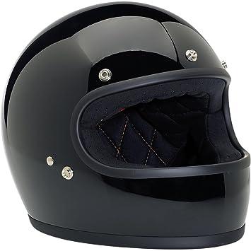 Biltwell Inc. Gringo cascos, nombre distinto: negro, género: mens/unisex