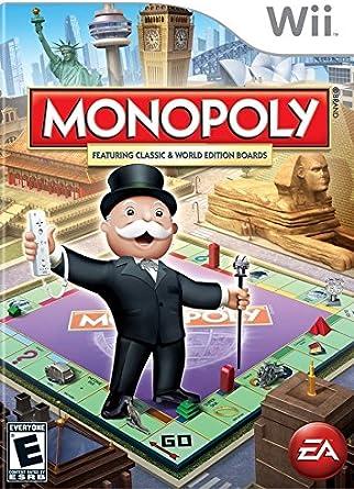 Electronic Arts Monopoly - Juego (Nintendo Wii, Familia, EA ...