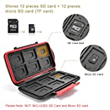 UTEBIT Professional SD Card Case Waterproof 24
