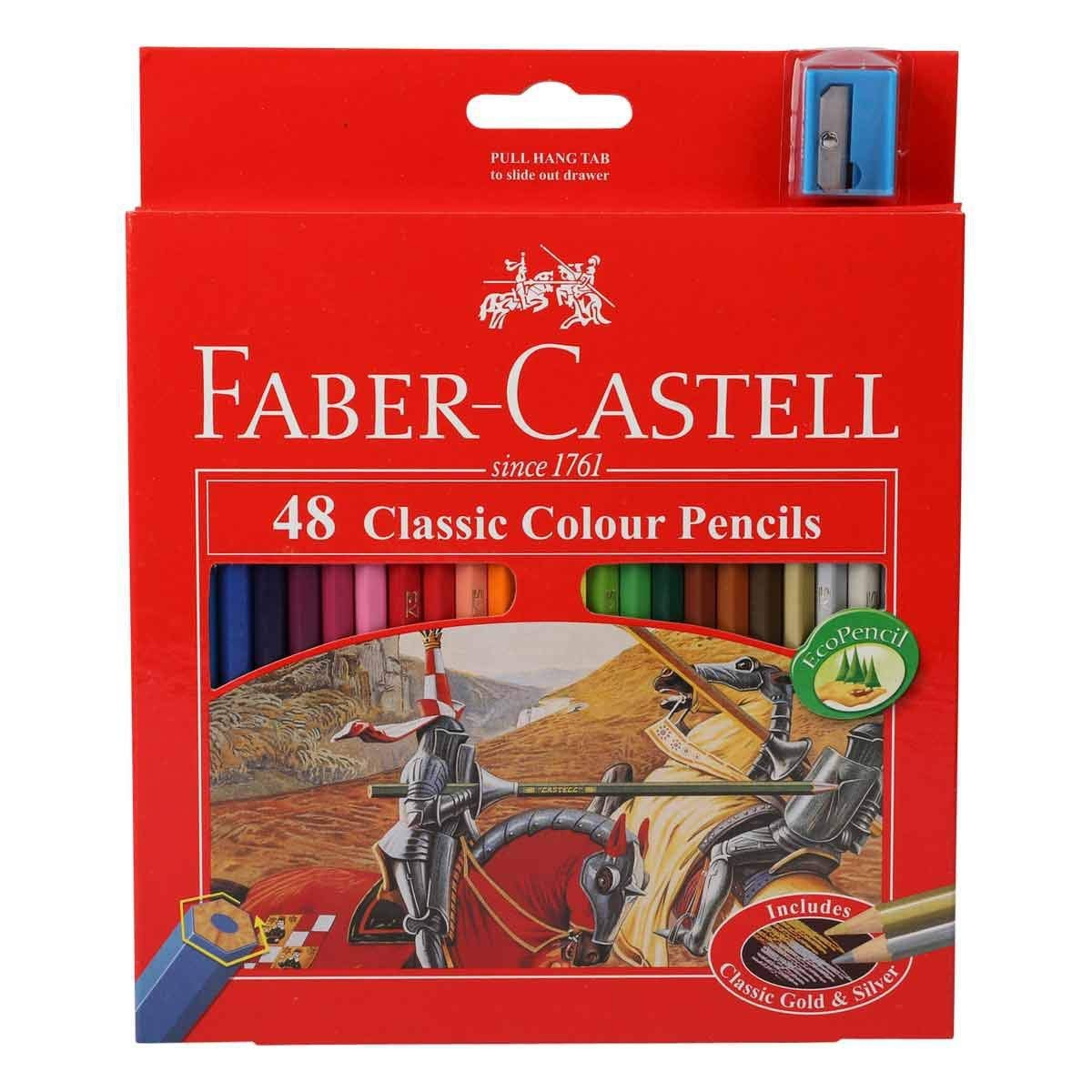 Faber Castell Premium Color Pencils, 48 Colour ART-0010