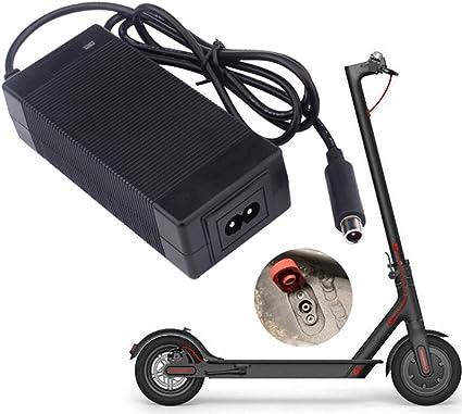 Prise EU YGQersh C/âble dalimentation pour Chargeur de Courant Alternatif 42V 2A pour Scooter /électrique Xiaomi Mijia M365
