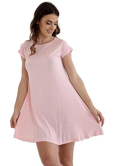 Vestido GW de moda para mujer, color rosa cereza XXL (20 – 22)