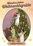 Wunderschöne Weihnachtsgrüße: 12 nostalgische Weihnachtskarten