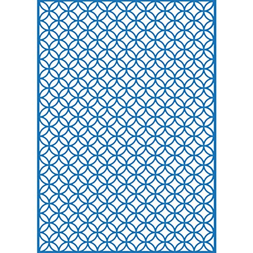 Craftwell USA EF-DCR-050TU Teresa Collins Embossing Folder, Decor Circles by Craftwell USA