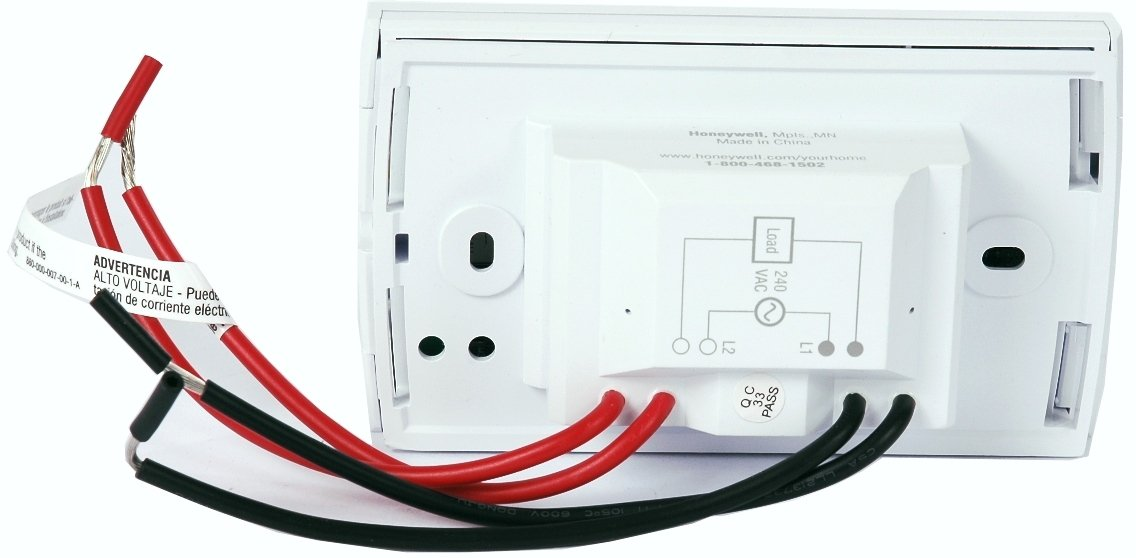 613%2BxDbbszL._SL1136_ amazon com honeywell tl8230a1003 line volt thermostat 240 208 vac 24 Volt Scooter Wire Diagram at aneh.co