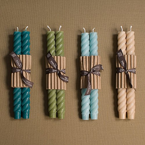 10 Inch Rope Tapers (Beach Taper Candles)