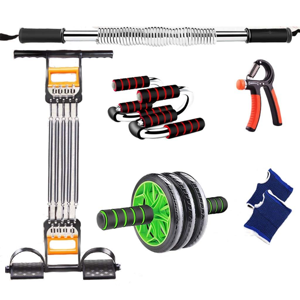 フィットネス機器セット、屋内腕の脚の腹部エクササイズアームロープ、ヨガマットグリップをスキップ腹部筋肉ホイール減量装置 B07HCC7TKZ 30KG F f F f 30KG