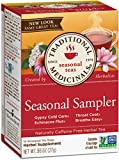 Traditional Medicinals Seasonal Tea Sampler Variety Pack, 16 Tea Bags