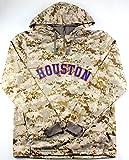 Majestic MLB Men's USMC Digi Camo Thermabase Hoodie (Large, Houston Astros)