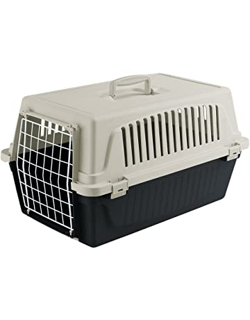 Feplast 73007199W2 Transportín para Gatos y Perros de Talla Pequeña Atlas 10 El, Plástico Robusto