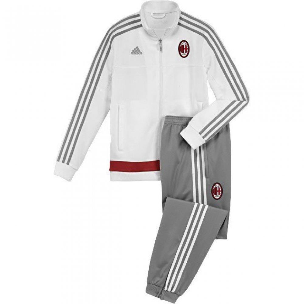 Adidas ACM PES Suit und Pullover, weiß Grau Rot