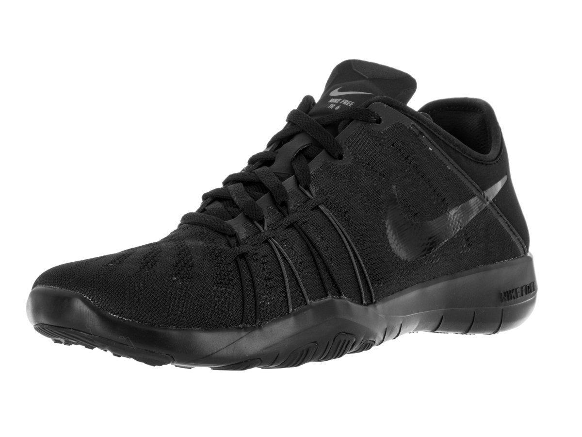 Womens Nike Free TR 6 Training Shoes B0058Z7RMQ 6.5 B(M) US|Black/Black/Black