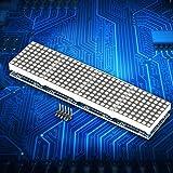 MAX7219 4 in 1 LED Dot Matrix Display Module MCU