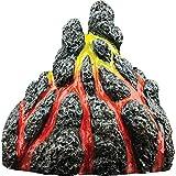 GloFish Volcano Ornament for Aquariums, 2.38 x 3.31 x 3.44 inches