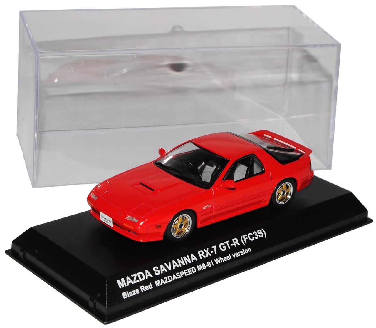 Kyosho Mazda RX-7 GT-R FC3S FC3S FC3S Savanna Rot 3. Generation 1985-1991 1/43 Modell Auto mit individiuellem Wunschkennzeichen f4c94b