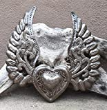 Worry Heart, Milagro Heart with Wings, Flying