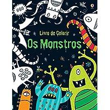 Os Monstros - Livro de Colorir