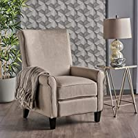 Charlene Traditional Wheat Fabric Recliner