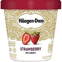Haagen Dazs, Strawberry Ice Cream, Pint (8 Count)