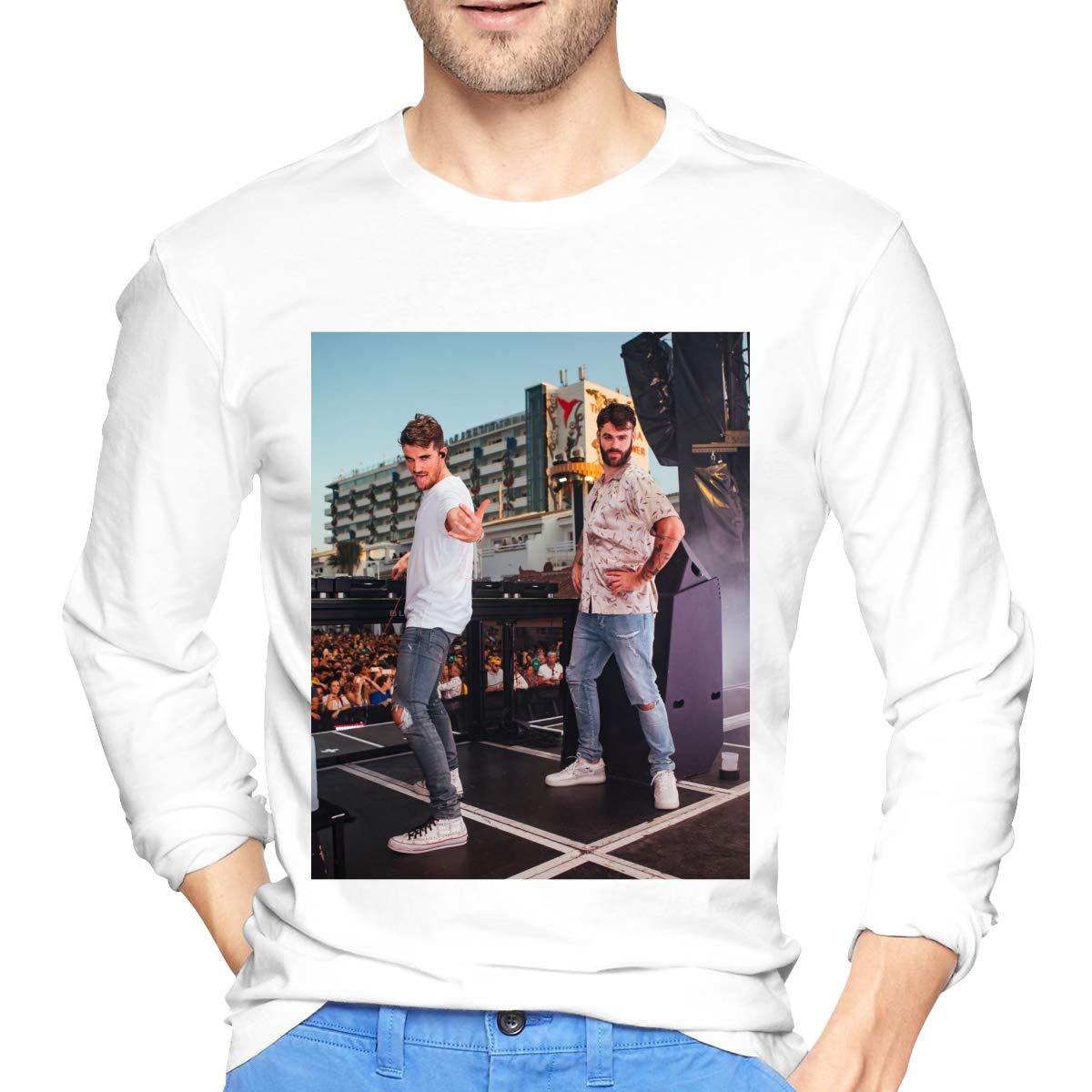 Lihehen Man The Chainsmokers Retro Printing Round Neck S Shirts