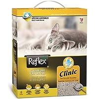Reflex Klinik Özel Tanecik Formüllü Süper Hızlı Topaklanan Kedi Kumu 6 lt * 2 Adet