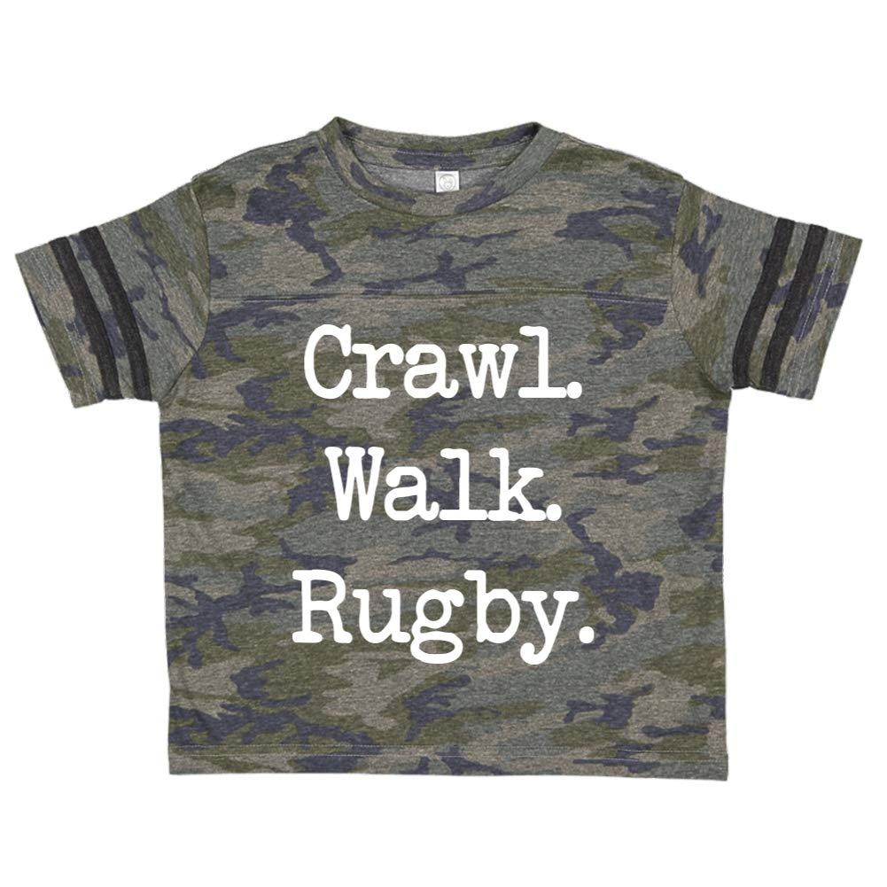 Rugby Mashed Clothing Crawl - Toddler//Kids Sporty T-Shirt Walk