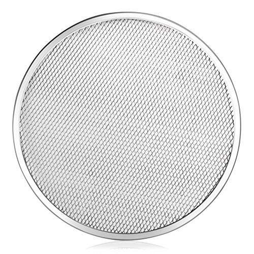 New Star Foodservice 50967 Seamless Aluminum Pizza Screen