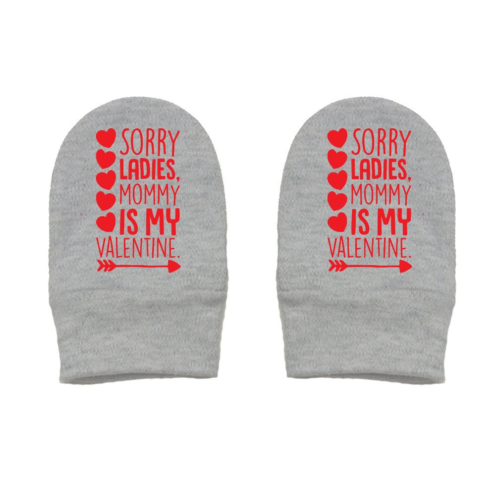 Mashed Clothing Unisex-Baby Thick /& Soft Baby Mittens Valentines Day Thick Premium Sorry Ladies Mommy Is My Valentine