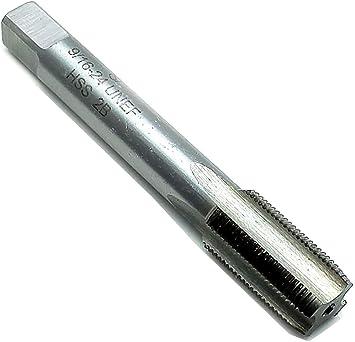 24 TPI High Speed Steel HSS New 9//16-24 UNEF Right hand Thread Tap 9//16/'/'