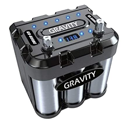 Amazon com: GRAVITY 800 AMP CAR BATTERY CAPACITOR GR-800BC