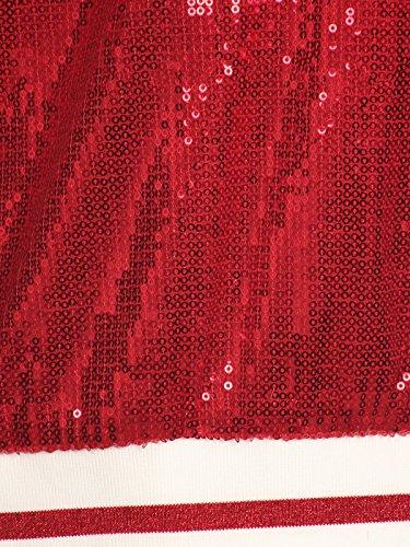 Chaqueta Rosso Mujer para Kaci Anna x1AYCqw0n5